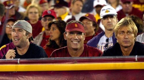 Former Trojan Riki Ellison says he warned USC about Steve Sarkisian in 2013