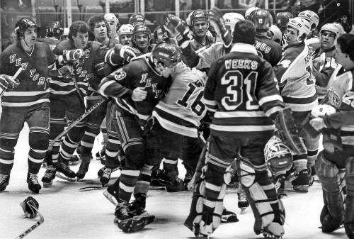 The Kings-Rangers fight we can't forget: Remember the '81 brawl?