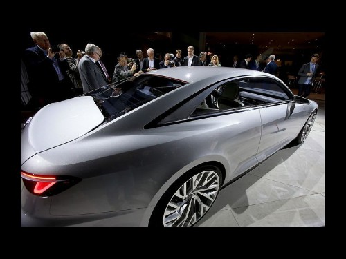 Audi Prologue concept car foreshadows a sultry, luxurious future - Los Angeles Times
