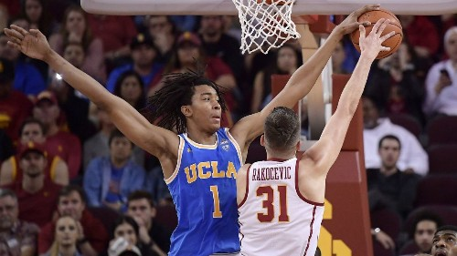 Moses Brown is leaving UCLA after one season to enter the NBA draft