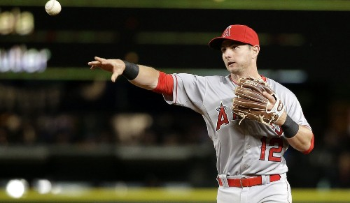 Angels' Johnny Giavotella has improved since his days with Kansas City - Los Angeles Times