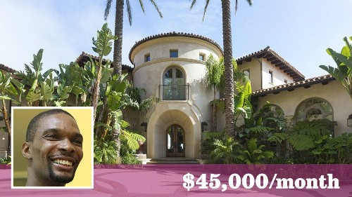 Miami Heat star Chris Bosh puts his Pacific Palisades home up for lease