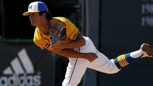 La Mirada's Jared Jones heads the list of top pitchers in high school baseball