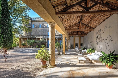 Five Picasso murals are part of castle for sale in the south of France