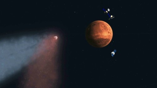 NASA dazzled, puzzled by comet Siding Spring data - Los Angeles Times