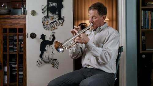 Bugler Jay Cohen's joyful notes at Santa Anita have been muted