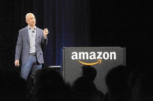 Investors flee Amazon as losses mount