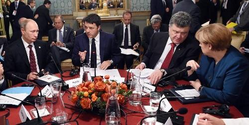 Putin meets with European leaders over Ukraine; little progress made - Los Angeles Times