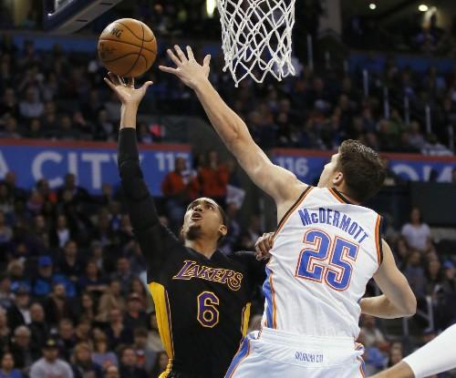 Lakers' Jordan Clarkson takes Magic Johnson's praise to heart
