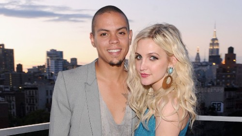 Ashlee Simpson and Evan Ross wed at estate of his mom, Diana Ross
