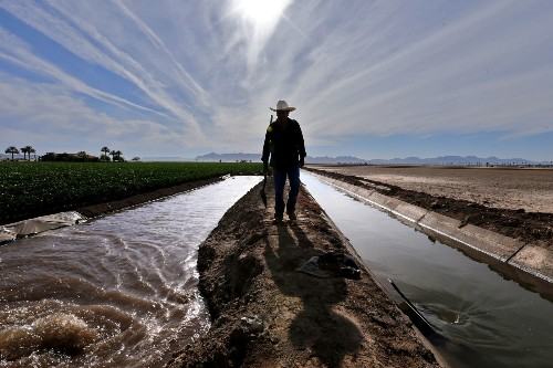 Shrinking Colorado River is a growing concern for Yuma farmers — and millions of water users