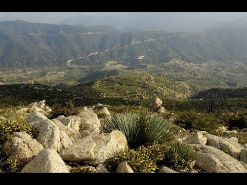 At Charlton Flats, in Angeles National Forest, spectacular views - Los Angeles Times