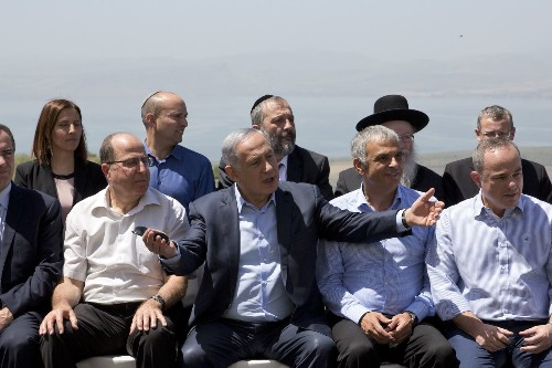 Netanyahu says Israel will never give up the Golan Heights