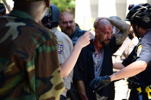 Violence in Sacramento shows old and new faces of white extremism - Los Angeles Times
