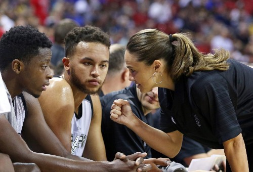 Becky Hammon shows that the NBA is not just a man's world
