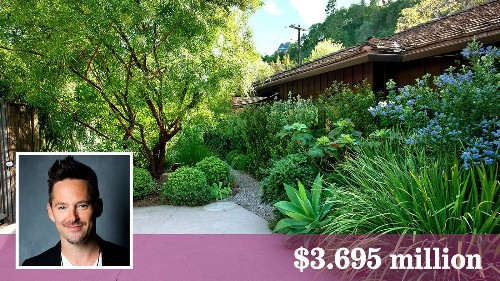 Filmmaker Scott Cooper ready to part with his Midcentury home in Brentwood - Los Angeles Times