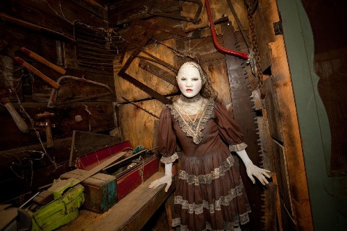 'The Houses October Built' produces credible horrors - Los Angeles Times