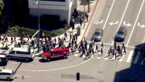 Suspected gunman at Century City mall faces arson and other charges, police say