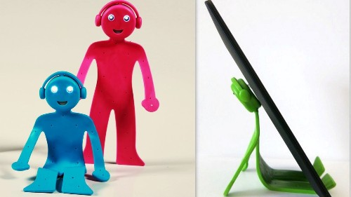 BendyMan stands tall among inexpensive but practical holders for your electronics