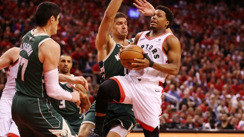 NBA playoffs: Raptors beat Bucks to tie Eastern Conference finals at 2-all