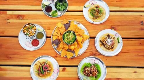 Danny Trejo talks vegan tacos at the new Trejo's Tacos on La Brea