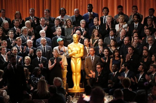 Inside the Oscar nominees luncheon, where the clarion call was 'art has no borders'