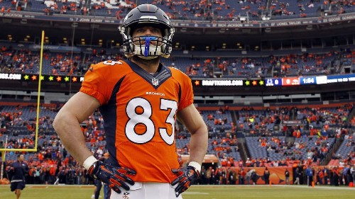 Denver Broncos' Wes Welker reportedly is thinking about retiring