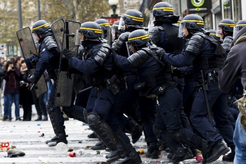 A capital under siege: Paris ramps up security for climate talks