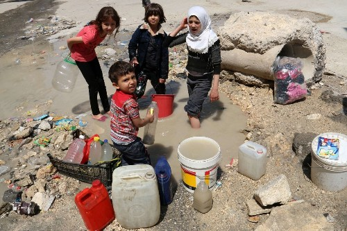 In Syria, residents of Aleppo struggle with a water shortage - Los Angeles Times
