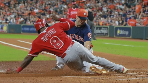 Angels drop fifth in a row with 6-2 loss to the Astros