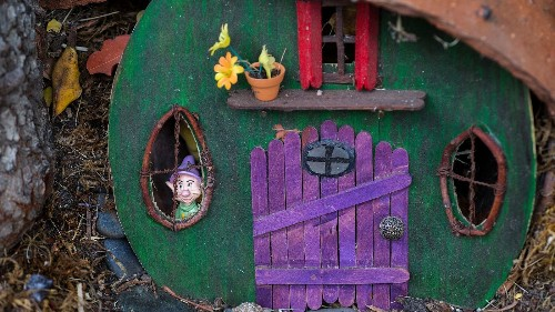 A whimsical, magical fairy tree brings smiles to an L.A. neighborhood
