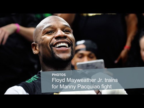 Floyd Mayweather Jr. is glad he waited for big fight - Los Angeles Times