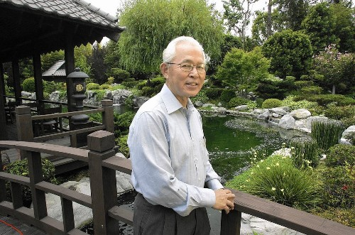 Takeo Uesugi dies at 75; landscape architect restored Huntington Library's Japanese Garden