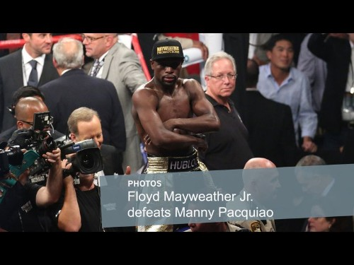 Mayweather defeats Pacquiao by unanimous decision