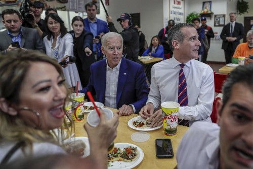 Joe Biden to L.A. donors: 'It is a marathon and we have a long way to go'