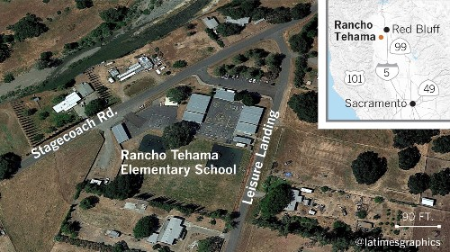 Terror in Northern California town as gunman goes on rampage, kills 5