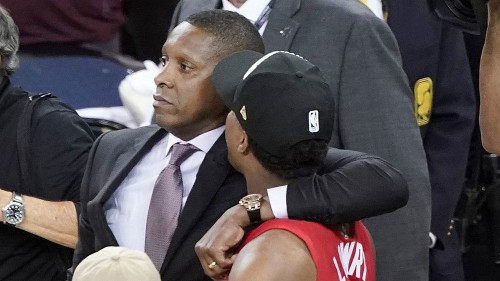 Deputy who claims Raptors president struck him has a concussion, lawyer says