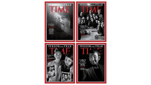 Time's Person of the Year? Four journalists and a newspaper, 'guardians' in 'the war on truth' - Los Angeles Times