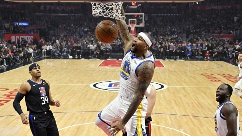 Short-handed Clippers no match for Warriors in DeMarcus Cousins' return - Los Angeles Times