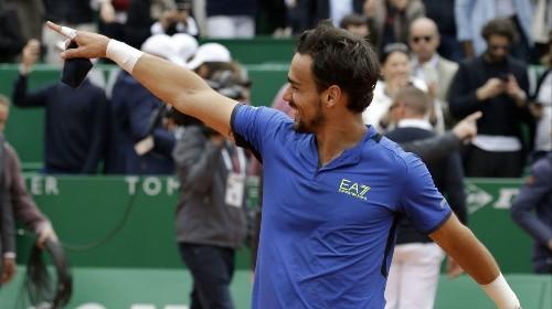 Fabio Fognini defeats Dusan Lajovic for Monte Carlo Masters title