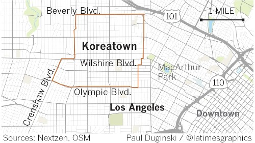 In Koreatown, a summer of upheaval galvanizes a community, and leaves others feeling left out - Los Angeles Times