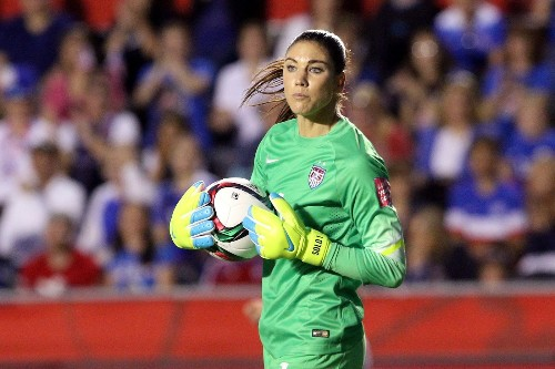 Hope Solo's World Cup: Strong in the goal, silent to the media - Los Angeles Times