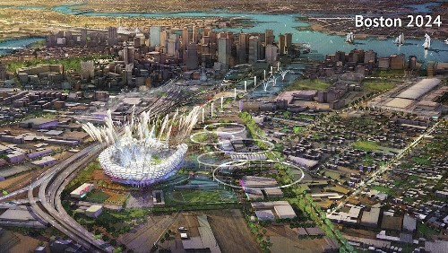 Boston Olympic bid moves forward with details, opposition