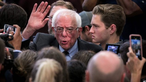 Sanders and progressives unveil bill to cancel all student debt