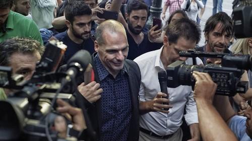 Former Greek finance minister Yanis Varoufakis makes capital comprehensible - Los Angeles Times