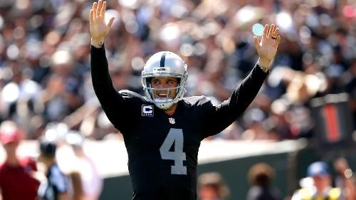Raiders score last-minute TD to defeat the Ravens, 37-33
