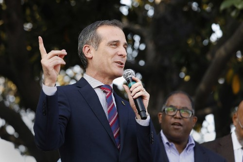 Garcetti faces heat for supporting U.S. Embassy move to Jerusalem. What did he mean?