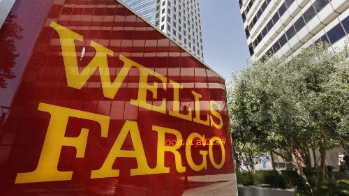 Wells Fargo's interim CEO is interrupted by hecklers at annual meeting