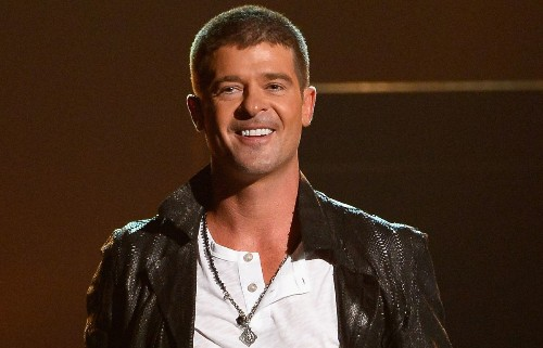 Robin Thicke admits, 'I messed up and had to lie for a while'