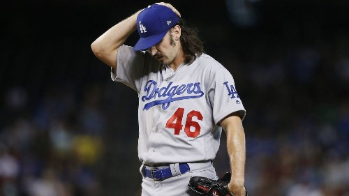 Rough start to Tony Gonsolin's major league debut costs Dodgers